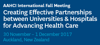 AAHCI Fall International Meeting