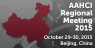 AAHCI Regional Meeting in Beijing